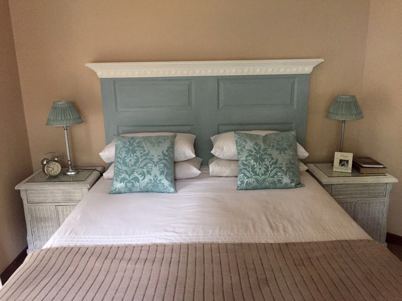 Manufactured Shaker Style Headboard Painted To Client Requirements